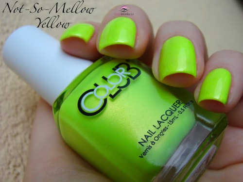 Color Club Not-So-Mellow Yellow