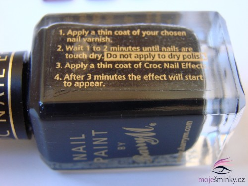 Croc Nail Effects instructions